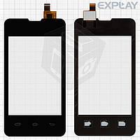 Сенсорный экран (touchscreen) для Explay Solo, черный, оригинал
