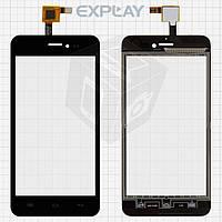 Сенсорный экран (touchscreen) для Explay Craft, черный, оригинал
