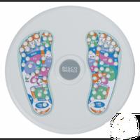 Диск здоровья с массажером рефлекторных зон на стопах d-35см PS K60-1 (пластик, +DVD, толщина-4см)