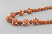 Ожерелье из глины, ручная работа, фото 1
