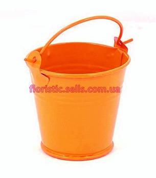 Ведерко 5 см оранжевое