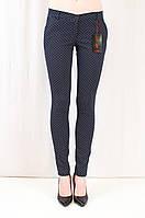 Красивые качественные молодежные брюки средней посадки, коттон.