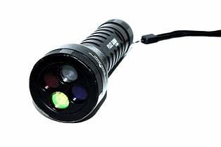 Четырехцветный подствольный фонарь POLICE Q9843