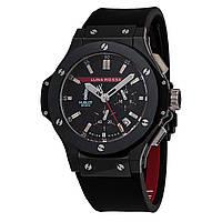Hublot Luna Rossa Наручные мужские часы кварцевые керамика хронограф