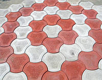 Плитка вибролитая Квадраты 250х250х25