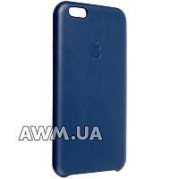 Чехол-накладка Leather Case для Apple iPhone 6 / 6S синий