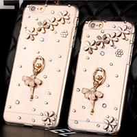 Чехол с балериной для IPhone 6/6s Swarovski