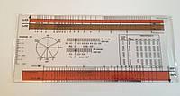 Линейка для оценки электрокардиограммы (ЭКГ-линейка), Германия, фото 1