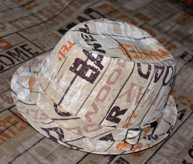 Шляпа челентанка испанская серия паркет
