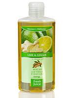 """Масло для ухода и массажа Lime&Ginger  Argan oil 150мл """"Fresh Juice"""""""