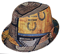 Шляпа челентанка испанская серия винтаж