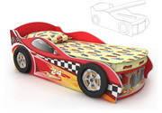 Кровать — машинка Dr 11-70 мебель детская.