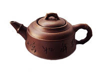 Чайник глиняный Бамбук 350 мл (исинская глина)