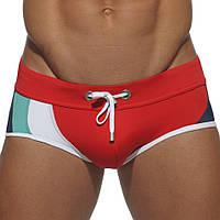 Плавки для спортивного плавания Seobean Multy Color Red #2224