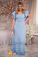 Красивое платье большого размера 48-58