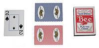 """Игральные карты для покера """"Пчела"""" USPCC США б/у"""