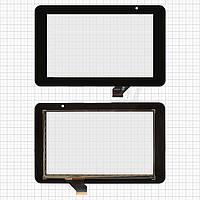 Touchscreen (сенсорный экран) для Prestigio MultiPad 7.0 HD (PMP3970B), 30 pin, оригинал (черный)