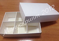 Коробка для конфет с ложементом