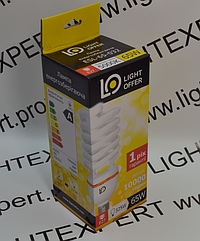 Энергосберегающая лампа LightOffer 65W E27 5000K