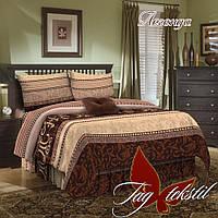 Двуспальное постельное белье Легенда ТМ TAG простынь 200*220