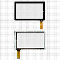 Touchscreen (сенсорный экран) для Ritmix RBK-495, 30 pin, оригинал (черный)