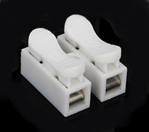 Соединительная клемма с самозажимными контактами двойная 10А 250V  Код.57631