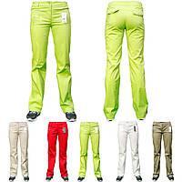 Женские стрейчевые брюки ATP11008-микс