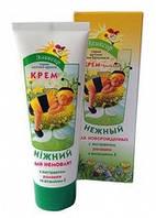 Крем-бальзам Нежный для новорожденных с экстрактом ромашки и витамином Е
