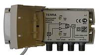 TERRA HS016 (1 общий вход [МВ+ДМВ], 2 выхода, усиление 20-22 дБ в каждом диапазоне, серия CABRIO)