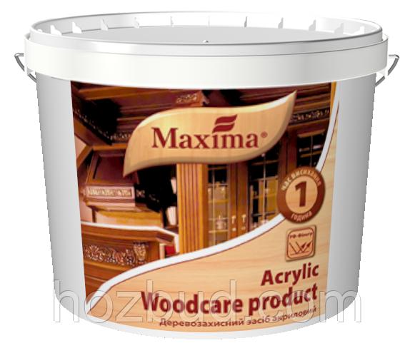 """Деревозахистний засіб акрилове з УФ-фільтром ТМ """"Maxima"""" (горіхове дерево) 20л"""