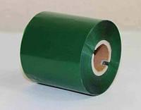 Риббон зеленый 84х300 Wax/Rezin