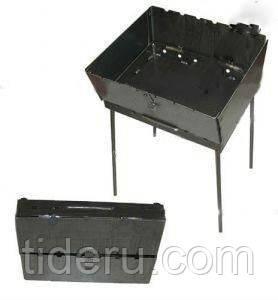 Мангал-чемодан (раскладной, вмещает 6 шампуров)