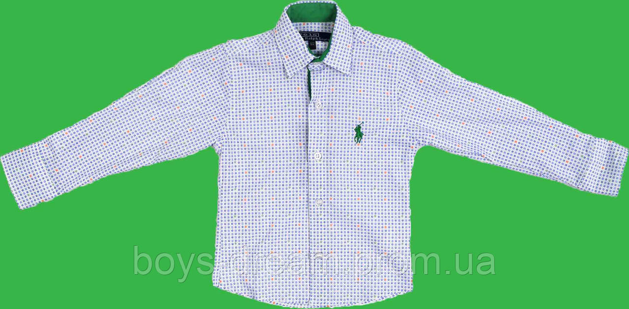 Рубашка для мальчика (98-122)(Турция)
