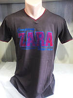 Мужская молодежная приталенная футболка