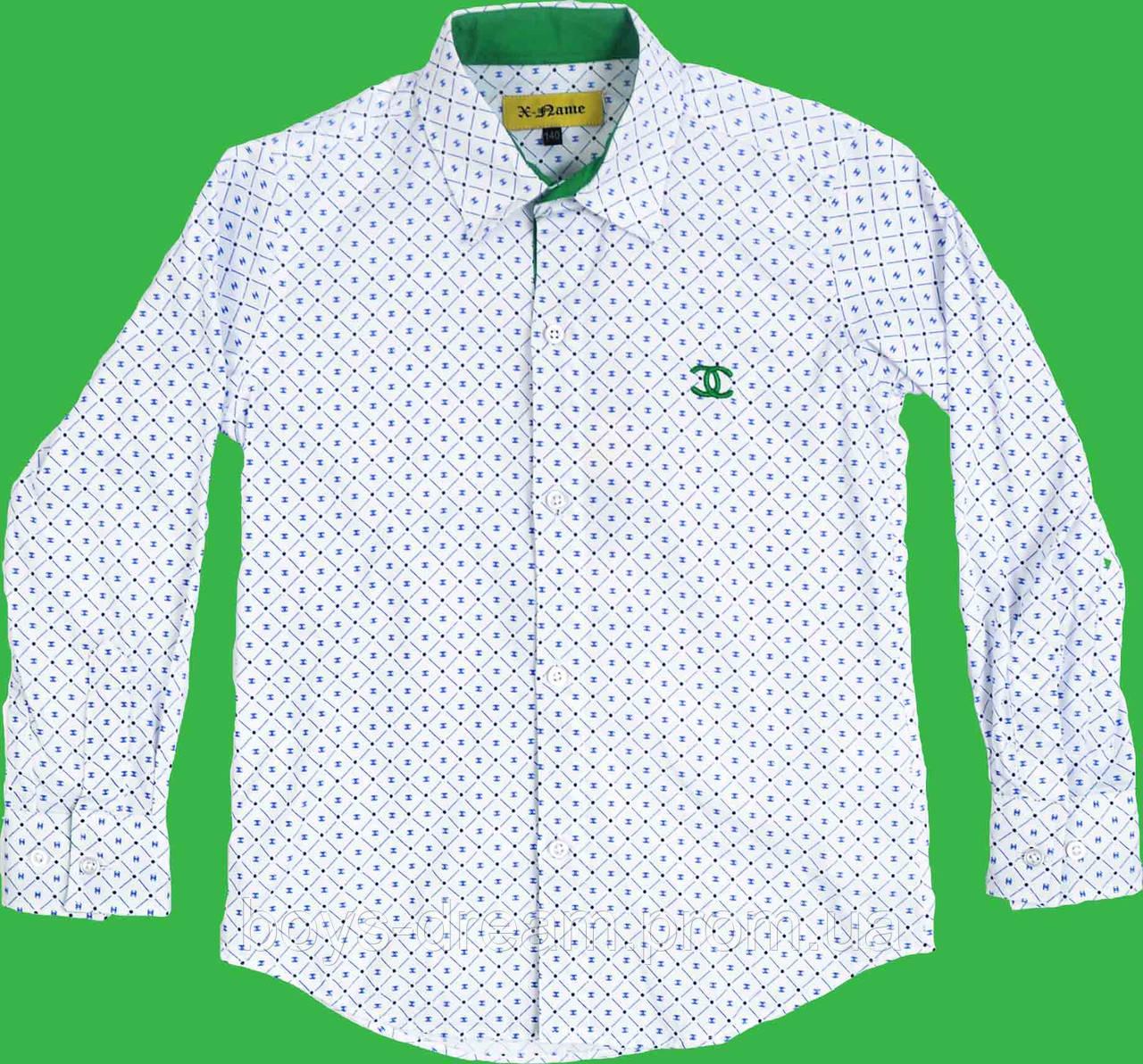 Рубашка для мальчика 158(Турция)