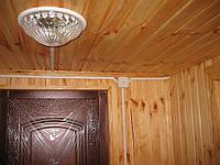 Электроповодка в деревяном доме.