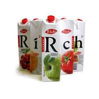 """Сок """"Rich"""" яблочный(0.2л.)"""