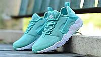 Женские кроссовки Nike Air Huarache Ultra мятные