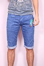Мужские цветные джинсовые шорты Mario CavaLLi (код 0437)