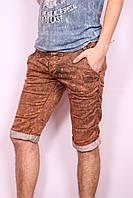 Мужские цветные джинсовые шорты Mario CavaLLi (код 0438)