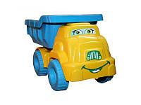 """Игрушка грузовичок """"Смайлик"""" №3 013575 Фламинго тойс, желто-голубой"""