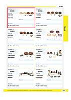 Комплект пыльников суппорта с буртиком KNORR SN-series K010603, IVECO CKSK42 81508226020