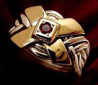 Эксклюзивное мужское кольцо головоломка от WickerRing