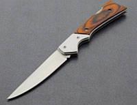 Туристический нож, складной нож А-6, ножи в дорогу, деревянная ручка,
