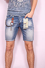 Короткие джинсовые шорты мужские Dromedar (код 027)