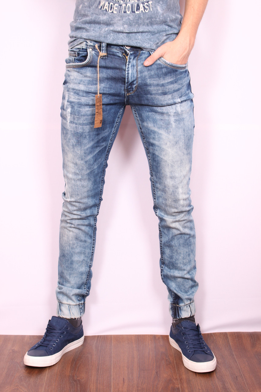 Чоловічі стильні джинси з манжетами VIP Mario Туреччина