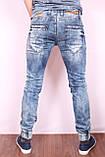Чоловічі стильні джинси з манжетами VIP Mario Туреччина, фото 2