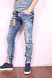 Чоловічі стильні джинси з манжетами VIP Mario Туреччина, фото 3