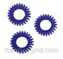 Набор резинок без коробки (3 шт.) Темно-синий