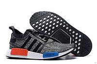 Мужские кроссовки Adidas NMD Runner Primeknit Grey